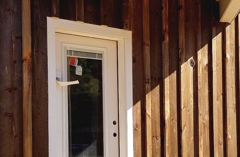 Cabin Door Close-Up