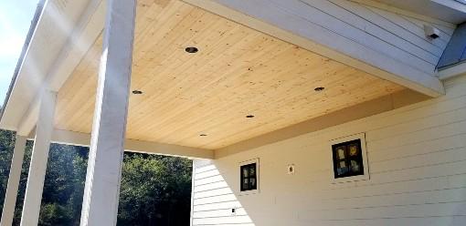 Porch Upclose